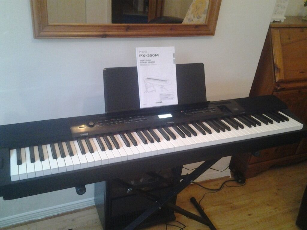 casio privia px 350 stage digital piano keyboard in county antrim gumtree. Black Bedroom Furniture Sets. Home Design Ideas