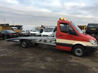 2009 mercedes sprinter recovery 311cdi lwb 17ft body