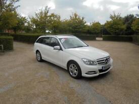 Mercedes-Benz C Class C220 Cdi Blueefficiency Executive SE (white) 2013