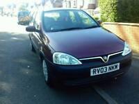 Vauxhall Corsa 1.2 5 doors cheap run around