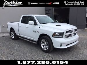 2014 Ram 1500 Sport   CLOTH   HEATED MIRRORS   UCONNECT  