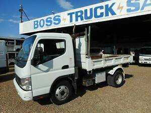 2006 Mitsubishi Canter Factory Tipper Rocklea Brisbane South West Preview