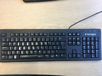 10 Used (but very good condition) Kensington USB Keyboards.
