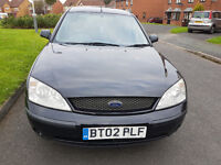 """""""02"""" PLATE, FORD MONDEO LX, ** MOT MAY 2017**"""