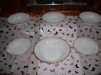 Trifle set - Nice condition.