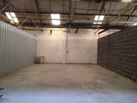 SECURE STORAGE & INDUSTRIAL UNIT TO LET IN CV2 - 1,000 SQ/FT UNIT - £5 PER SQ/FT INCLUSIVE - NOW AV.