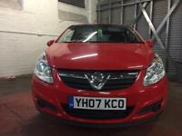 VAUXHALL CORSA 1.2 SXI 3DR RED 2007