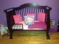 beautiful never rely used crib