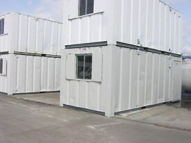 21ft x 9ft Anti Vandal Portable Cabin Site Office Welfare Unit +IN STOCK 2 VIEW+ shipping container