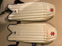 Gray Nichols cricket pads junior