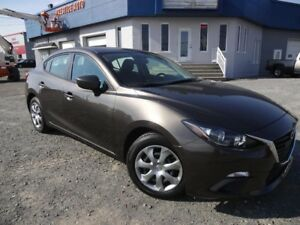 2014 Mazda Mazda3 GX-SKY ACTIV BAS MILLAGE  AUTOMATIQUE A/C PORT