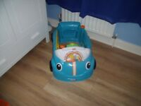baby seat in car shape, bath seat, and door swing