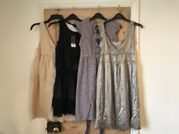 A selection of women's dresses.