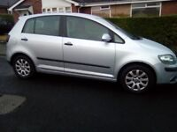 55 REG VW GOLF PLUS SE 1.9 TDI ONLY 113000 MILES! 60 MPG RUNS GREAT ROOMY COMFY WAS 1495 NOW 1275