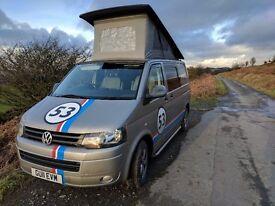 VW Transporter T5 TDI 140bhp SWB Camper Van (Part conversion) MOT till March 18