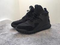 adidas tubular X, Black, size 9 UK £30