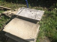 Free Large Used Paving Slabs and Large Pieces of Hardcore