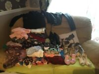 Large bundle of girls clothes and shoes