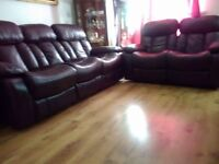 Recliner 5 seat sofa set