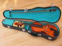 "Violin 3/4 size John Horby Skewes ""Antoni"" AXL32"