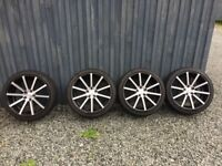 """AUDI BMW VW MERCEDES + MORE 19"""" Audi Wheels Judd T202 Almost new (4 off)"""
