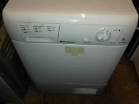 W Hotpoint 8kg condenser dryer free nn delivery 3 months warranty