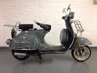 Classic Neco Abruzzi scooter 50cc (Looks just like early Vespa)