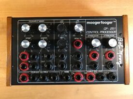 Moog CP-251 Moogerfooger Control Processor - Analogue Synthesiser controller, signed by Bob Moog!