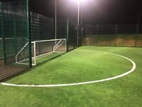 Monday evening 5-a-side needs some new players!