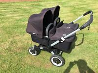 Bugaboo double pram / buggy