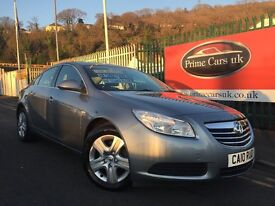 2010 10 Vauxhall Insignia 1.8 i VVT 16v Exclusive Petrol 6 Speed Manual Low Miles