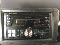 ALPINE CD RECEIVER CDE-W203RI
