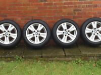 alloys wheels 16 inch came of my bmw 1 series will fit other cars