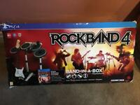PS4 ROCKBAND 4 BAND IN A BOX