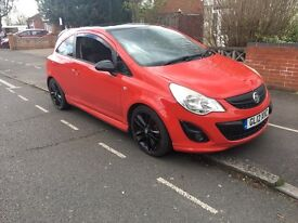 Vauxhall Corsa 1.2 Petrol 3 Doors Limited Edition Red