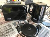 Kettle and toaster (Russell Hobbs)