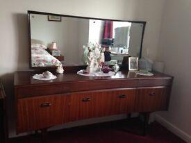 Retro (60's style) bedroom suite