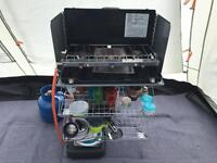 RELISTED - Hi gear camping kitchen stand FOLDING