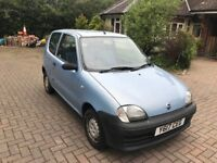 Very Low Mileage Fiat Seicento S 2001 for sale