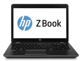 HP Zbook 14 core i7- 5600U,8GB 256gb ssd Business Laptop
