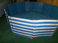 Paddling pool for garden