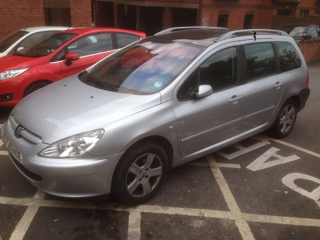 peugeot 307 sw 2004 7 seater in whitchurch bristol. Black Bedroom Furniture Sets. Home Design Ideas
