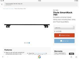 Thule smartrack roof bars