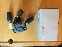 Manfrotto 3-Way Tripod Head - NEW