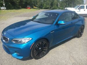 2017 BMW M2 COUPE+MANUELLE+BAS MILLAGE
