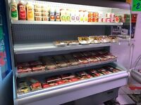 Multi deck Display Fridge suit butcher catering shop fitting etc