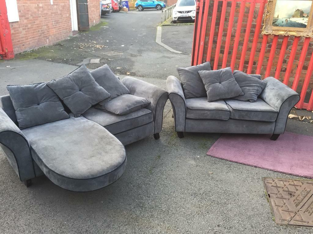 Fabric 3seater and 2seater suite