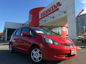 2012 Honda Fit LX 5sp