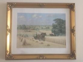 Robin Wheeldon's Harvesting print
