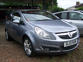 2010 10 PLATE CORSA SXI NEW MOT NEW TIMING KIT AND WATER PUMP LOW LOW PRICE FIXED AT £1995